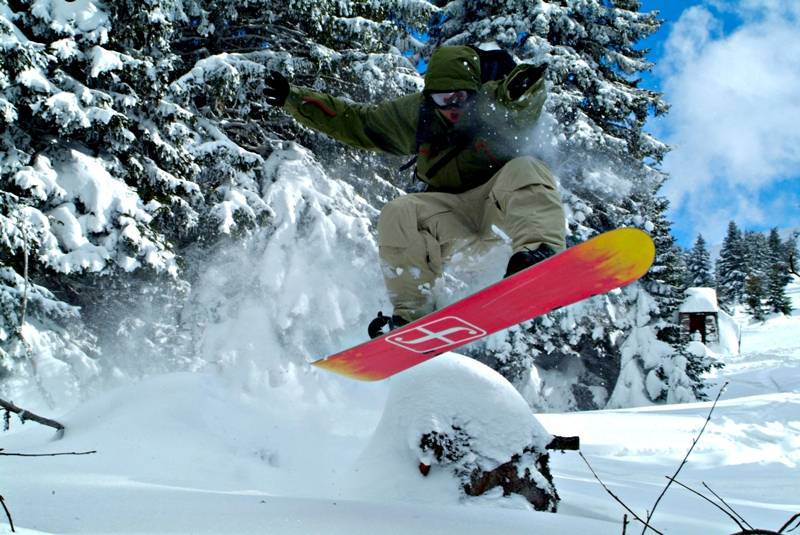 Kopaonik snowboard